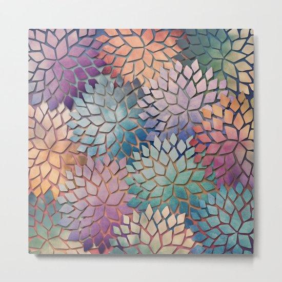 Abstract Floral Petals 4 Metal Print
