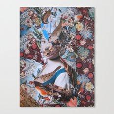 La Fanciulla di Rotari Canvas Print