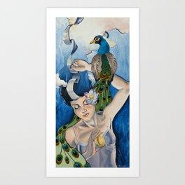 Muse- Blue Art Print