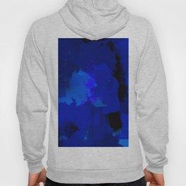 Night blue strokes Dark blue and black abstract painting B01YK Hoody