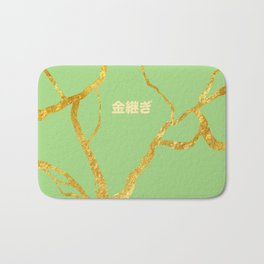 Kintsugi green Bath Mat
