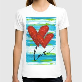 Two Hearts of Love T-shirt
