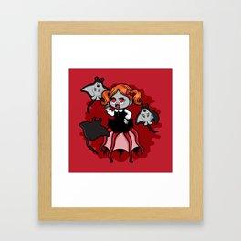 Vampire Baby Squid Framed Art Print