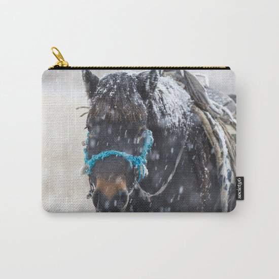 Winter Horse I Carry-All Pouch