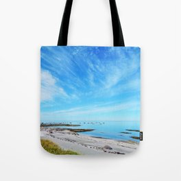 Big Blue Calm Tote Bag