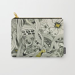 Abstract zentangle design Carry-All Pouch