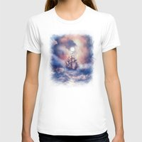 storm T-shirts featuring Perfect storm.  by Viviana Gonzalez