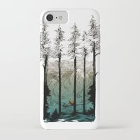 tennessee iPhone & iPod Cases featuring Tennessee Mist by Derik Hobbs Illustration
