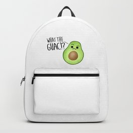 What The Guac - Avocado Backpack