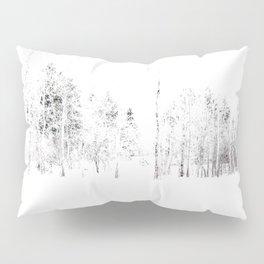 Trees in Winter Vignette | Prospect Landscape | Nadia Bonello | Canada Pillow Sham