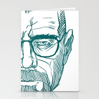 cook Stationery Cards featuring The Cook by Thecansone