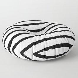 Paint Stripes Floor Pillow