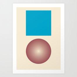 Gradient V2 Art Print