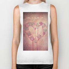 Love is in the air.. Biker Tank