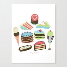 Too Sweet! Canvas Print