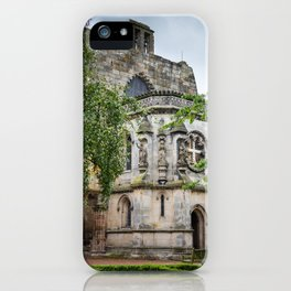 Rosslyn Chapel outside Edinburgh, Scotland iPhone Case