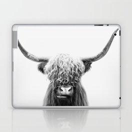 Scottish Highland Cow Laptop & iPad Skin