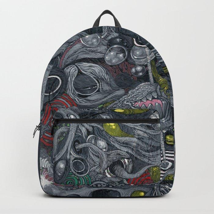 Warning Backpack