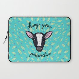 Change Your Perspective White Blaze Laptop Sleeve