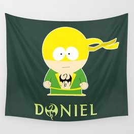 Defenders - Daniel Rand - Iron Fist Wall Tapestry