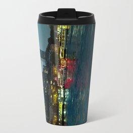 The night lights. Travel Mug