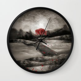 The red sounds and poems, Chapter I Wall Clock