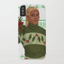 Very Merry Zevran iPhone Case