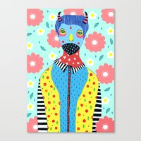 kpop Canvas Prints featuring Make Me Colourful by Saif Chowdhury