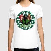 starbucks T-shirts featuring Starbucks Friends  by Ellador