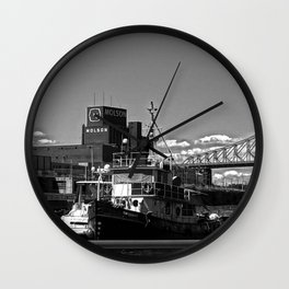 Old Port Montreal Wall Clock