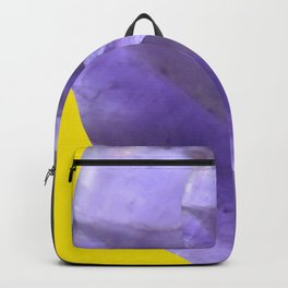 Yellow Mystical Powers of Amethyst #society6 Backpack