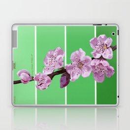 Cherry Blossoms on Greens Laptop & iPad Skin