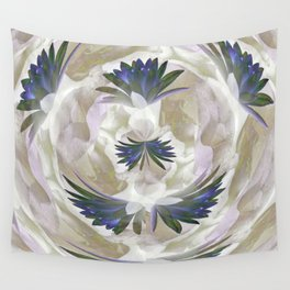 Lilies in the Round Wall Tapestry