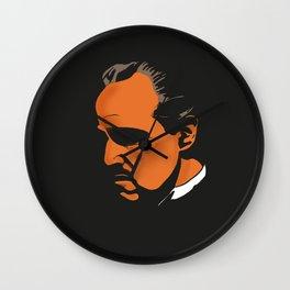 Vito Corleone - The Godfather Part I Wall Clock
