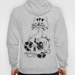 Long Tailed Creepy Cat and Sneaky Rat Hoody