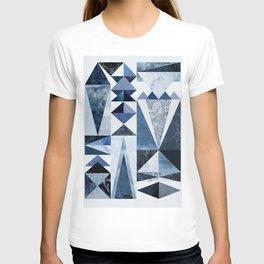Blue Shapes T-shirt