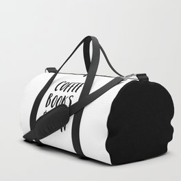 Coffee, Books & Rain Quote Duffle Bag