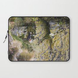 Eye Spy a Puffin Laptop Sleeve