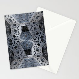 Fractal Art - spaceship drive Stationery Cards