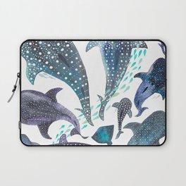 Whale Shark, Ray & Sea Creature Play Print Laptop Sleeve