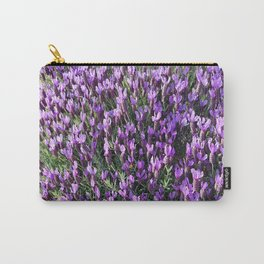 SPANISH LAVENDER AND ONE BEE Carry-All Pouch