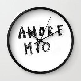 AMORE MIO Wall Clock