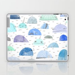 Whale party Laptop & iPad Skin