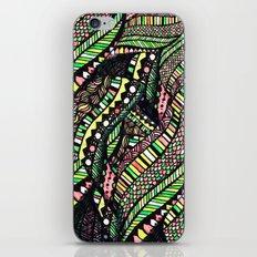 covered woman mandala iPhone & iPod Skin