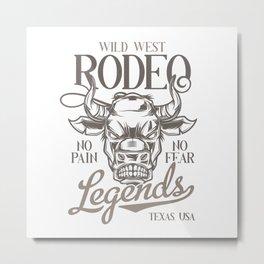 10 Bull_12 Metal Print