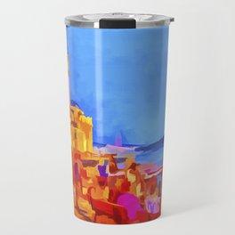 Istanbul Pop Art Travel Mug