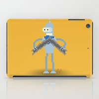 bender iPad Cases featuring Pixel Bender by Paul Scott (Dracula is Still a Threat)