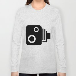Isolated Speed Camera Long Sleeve T-shirt