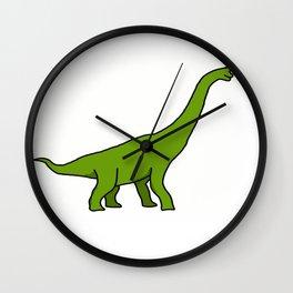 Girafe préhistorique Wall Clock
