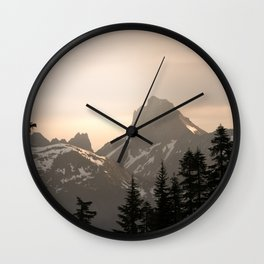 Adventure in the Mountains - Nature Photography Wall Clock